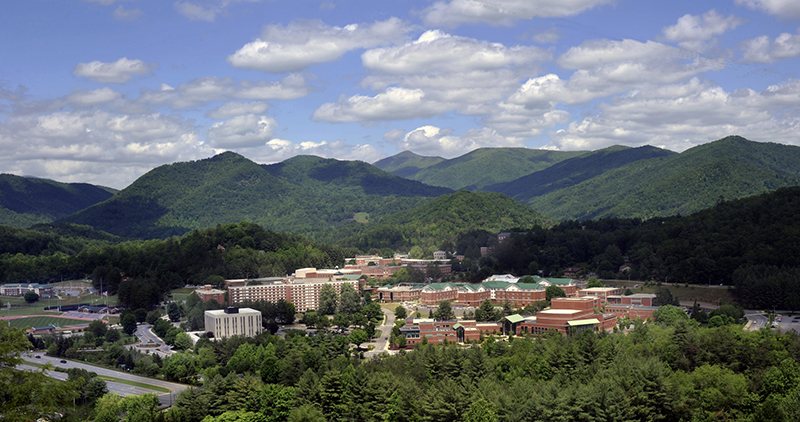 Overview of campus